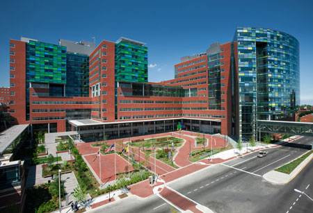 Hopkins Medical Campus Map.الولايات المتحدة الأمريكية German Medical Care